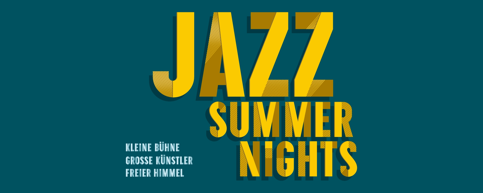 Jazz Summer Nights  Julian Schmidt Trio featuring Lukas Gabric