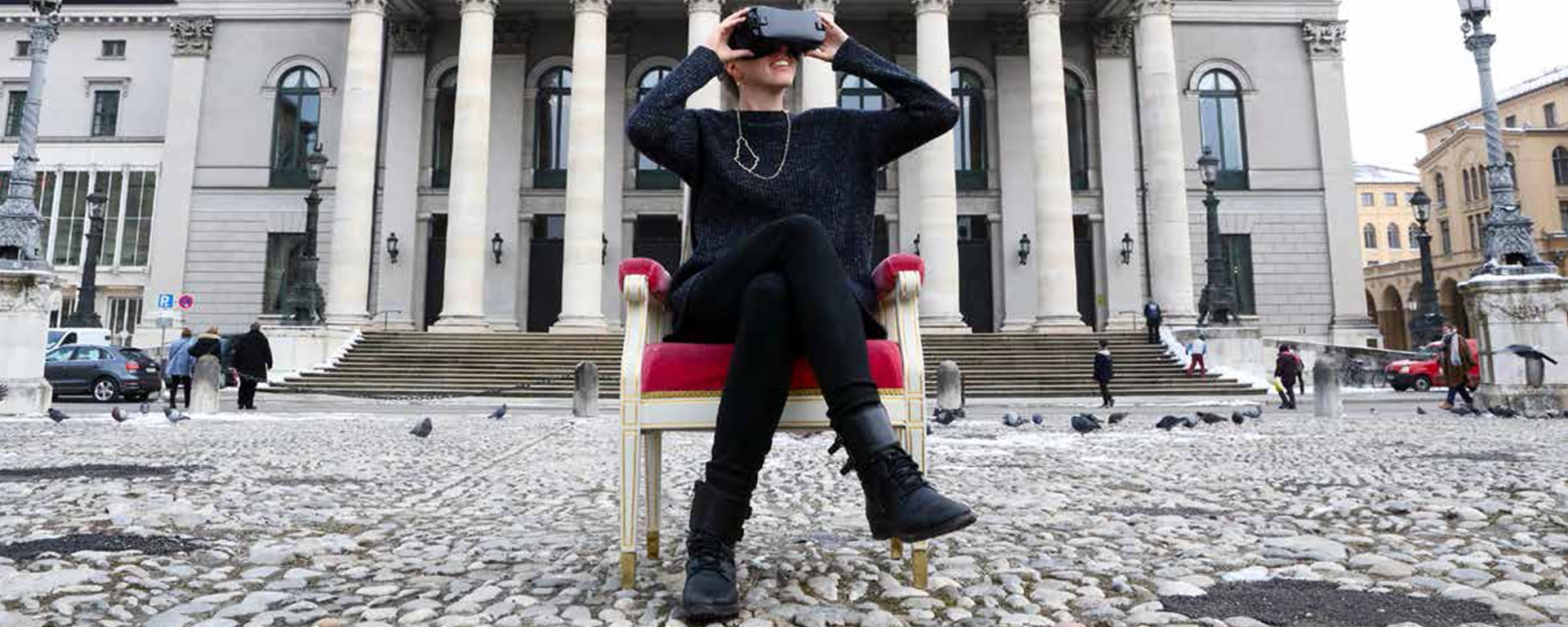 Virtual Reality – die Staatsoper im Gasteig